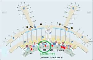 map-airport-information-desk
